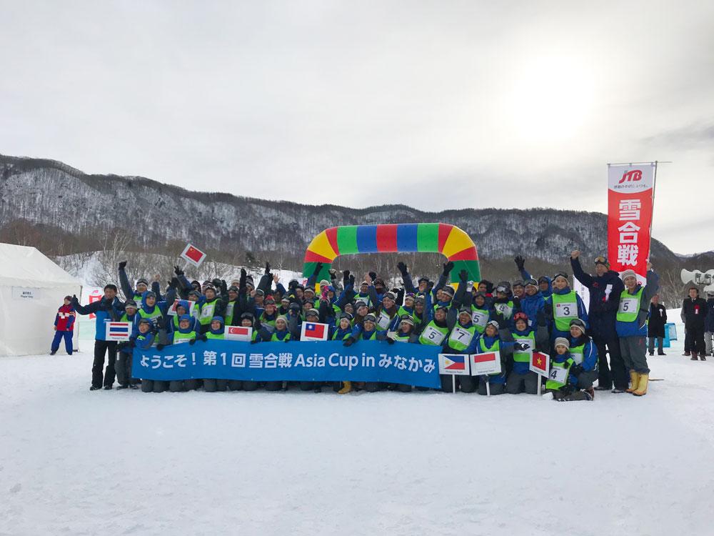 雪合戦Asia cup 集合写真