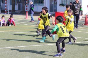 模擬球での練習試合